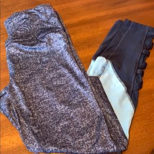 RBX leggings with mesh accent